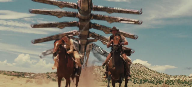 Cowboys and Aliens trailer #2 released