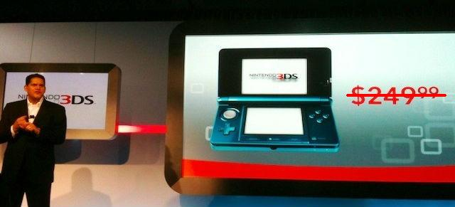Nintendo Slashing Price of 3DS to $170