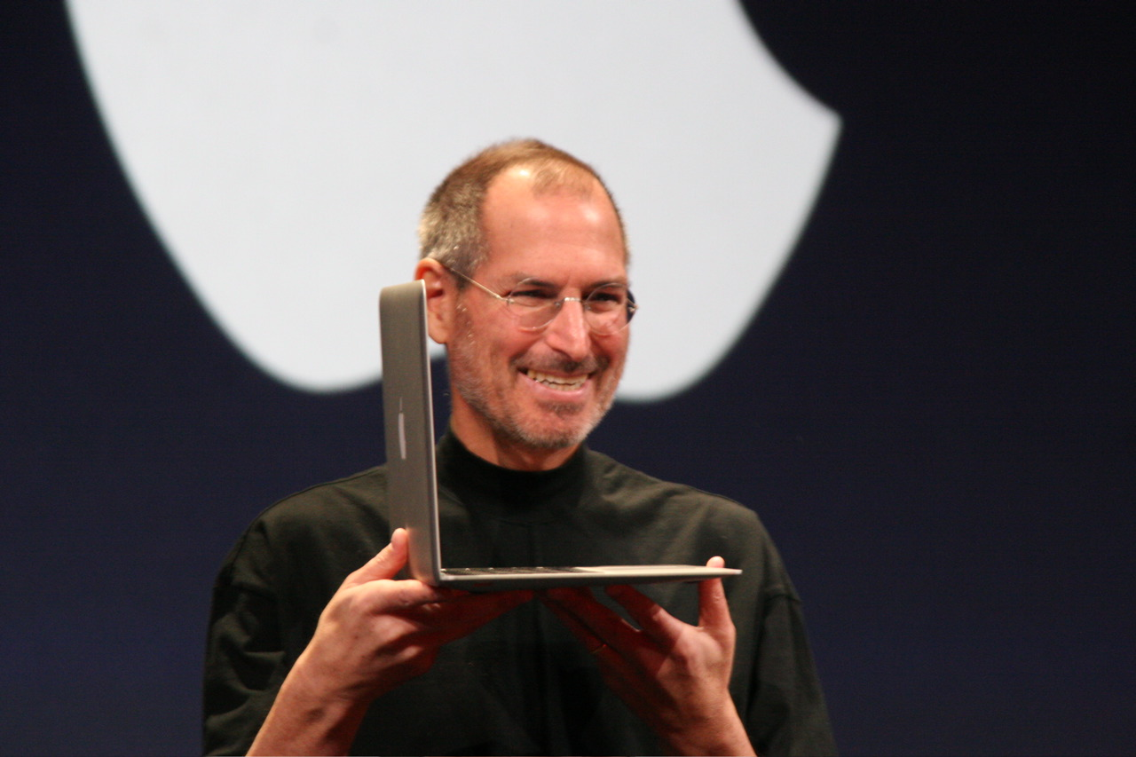 Steve Jobs resigns as CEO of Apple; recommends successor