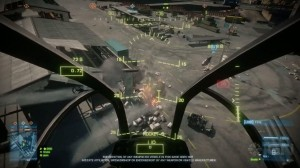 The chopper can be devstating to enemy ground forces