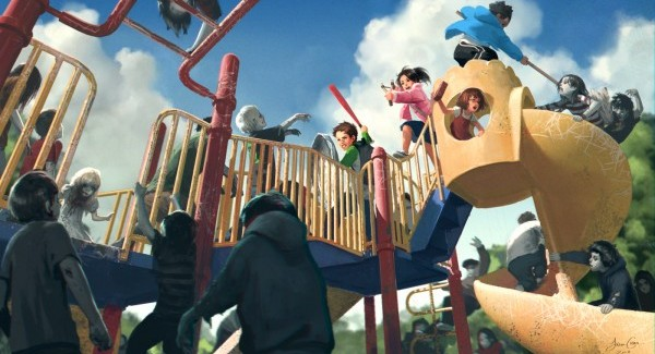 Kickstart your way to a new video game: The story of Zombie Playground
