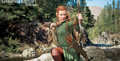Evangeline Lilly's elf warrior in 'The Hobbit: The Desolation of Smaug