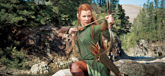 The Hobbit: The Desolation of Smaug First Look – Evangeline Lilly's Elf